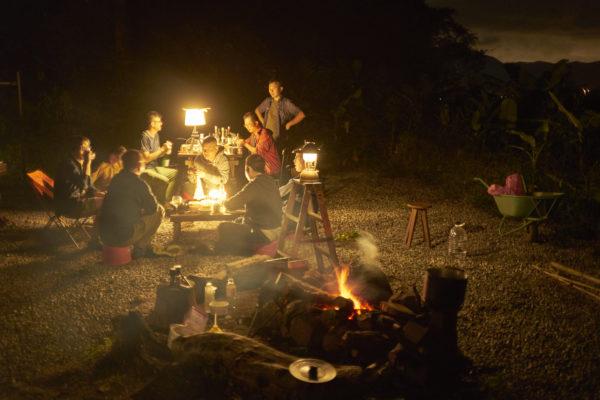 營火汽化燈