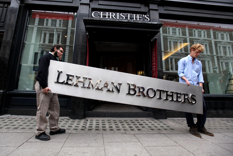 雷曼兄弟公司破產