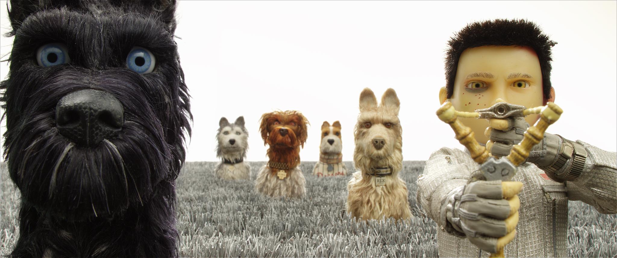 阿中(右起)與霸王、老闆、國王、公爵、老大。(福斯影片)