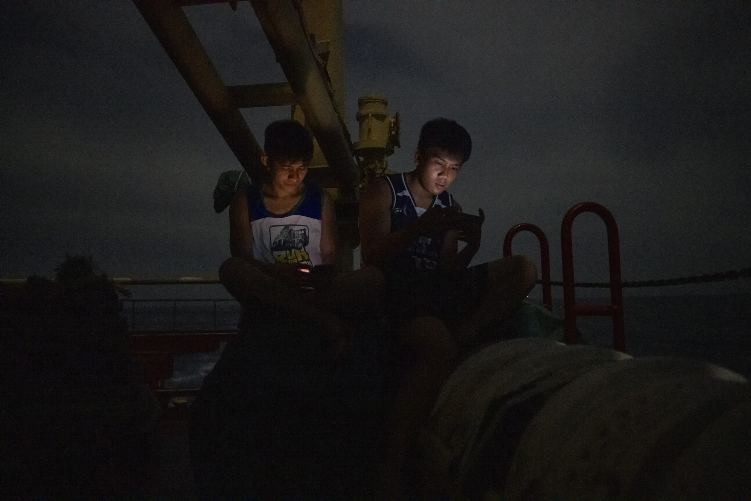 PHILIPPINES-SHIPPING-LABORERS