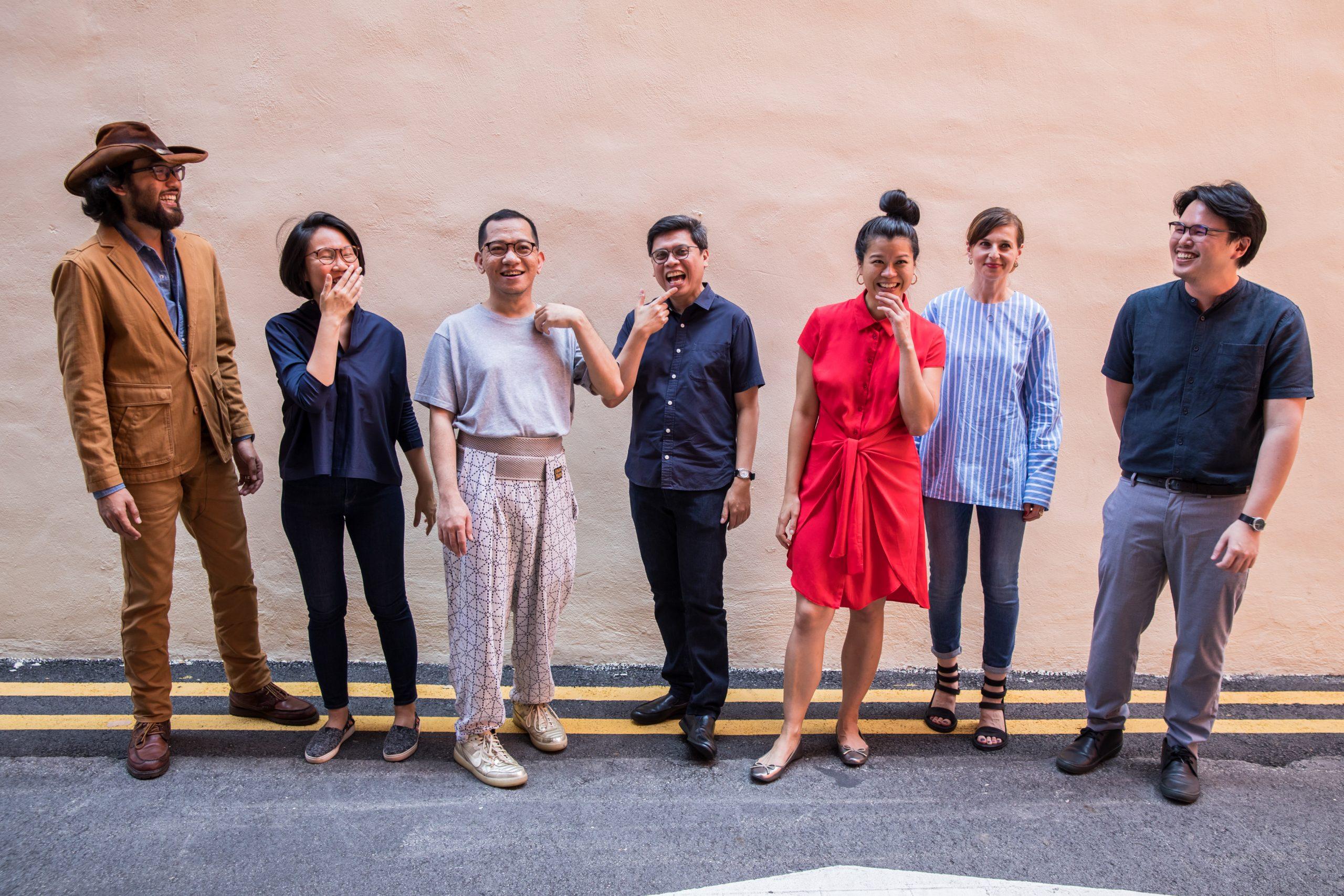 新加坡雙年展策展團隊