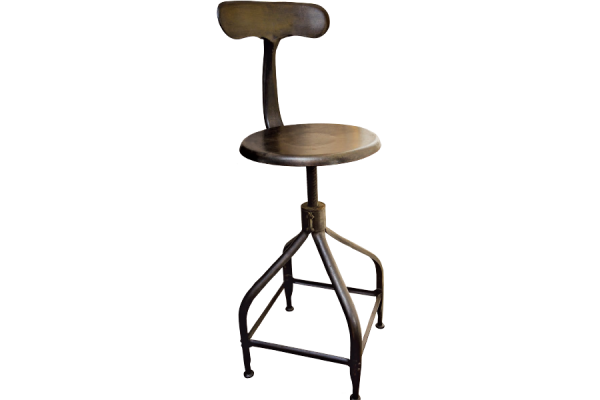鯨魚尾工作椅